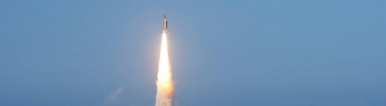 lancement de fusée lancement de Marie range