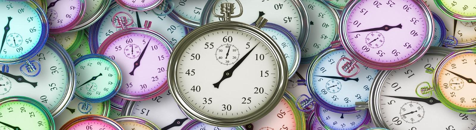 Chronomètres temps défini