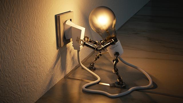 ampoule éclairée illustration de la créativité et des idées