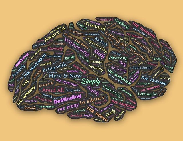 cerveau en pleine réflexion et introspection